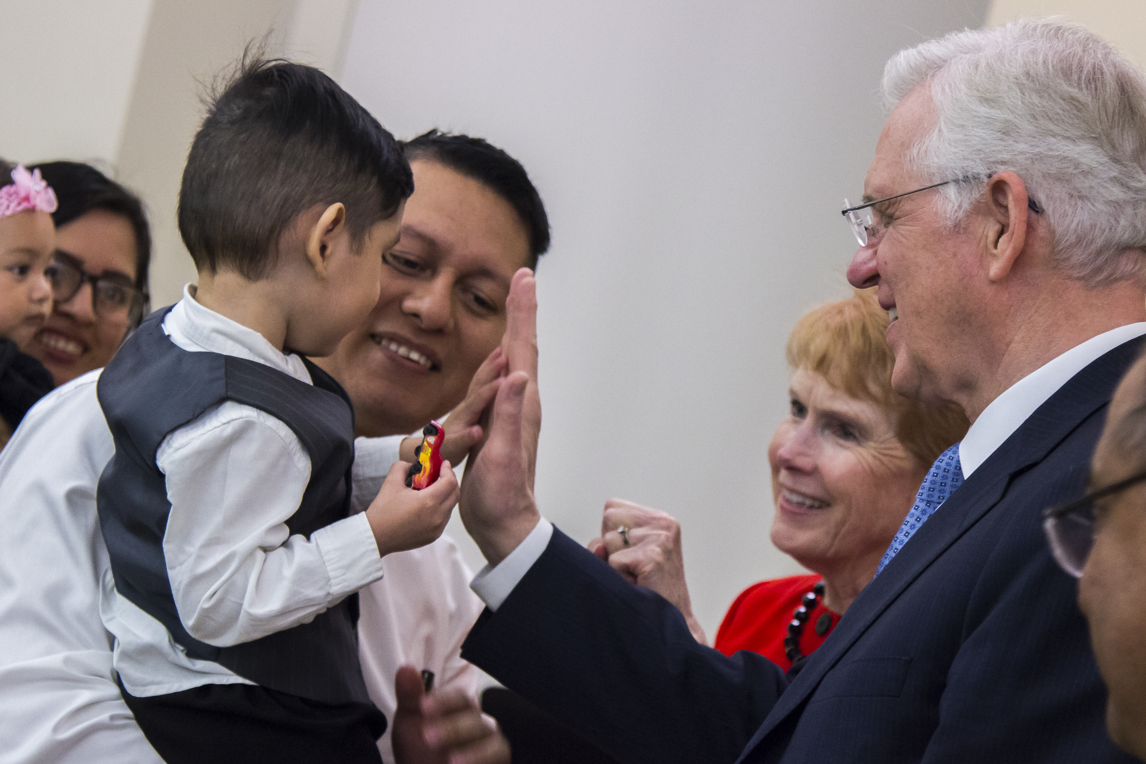 Elder D. Todd Christofferson on Sunday, February 10 at the special conference of the San Salvador El Salvador Soyapango Stake.