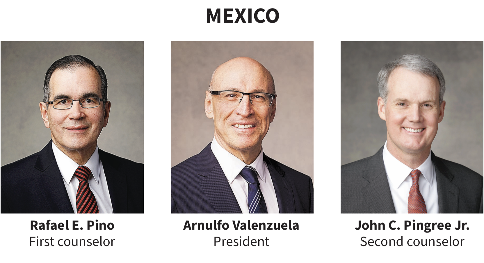 Mexico area presidency