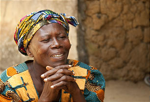 A long-time resident of Baomahun recalls joy that clean water brought to her village. Latter-day Saint Charities constructed wells in Sierra Leone.