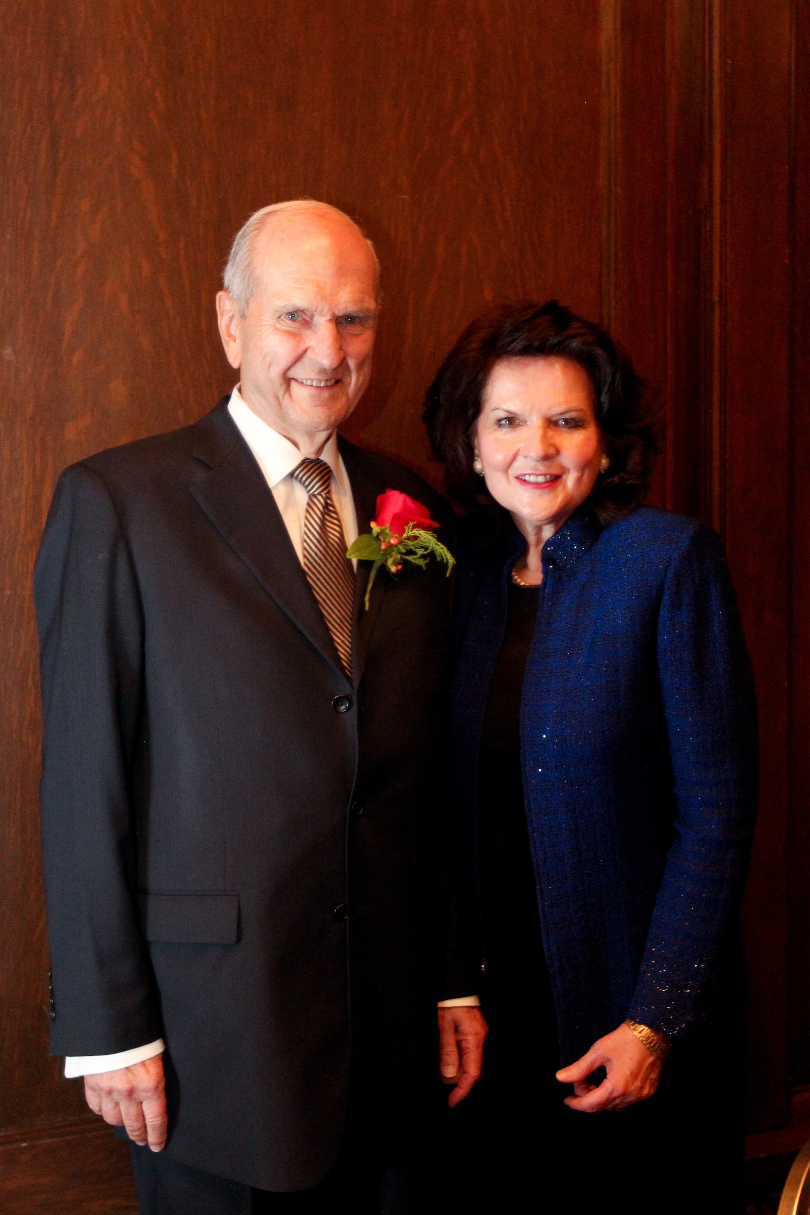 President Russell M. Nelson and his wife, Sister Wendy Watson Nelson.