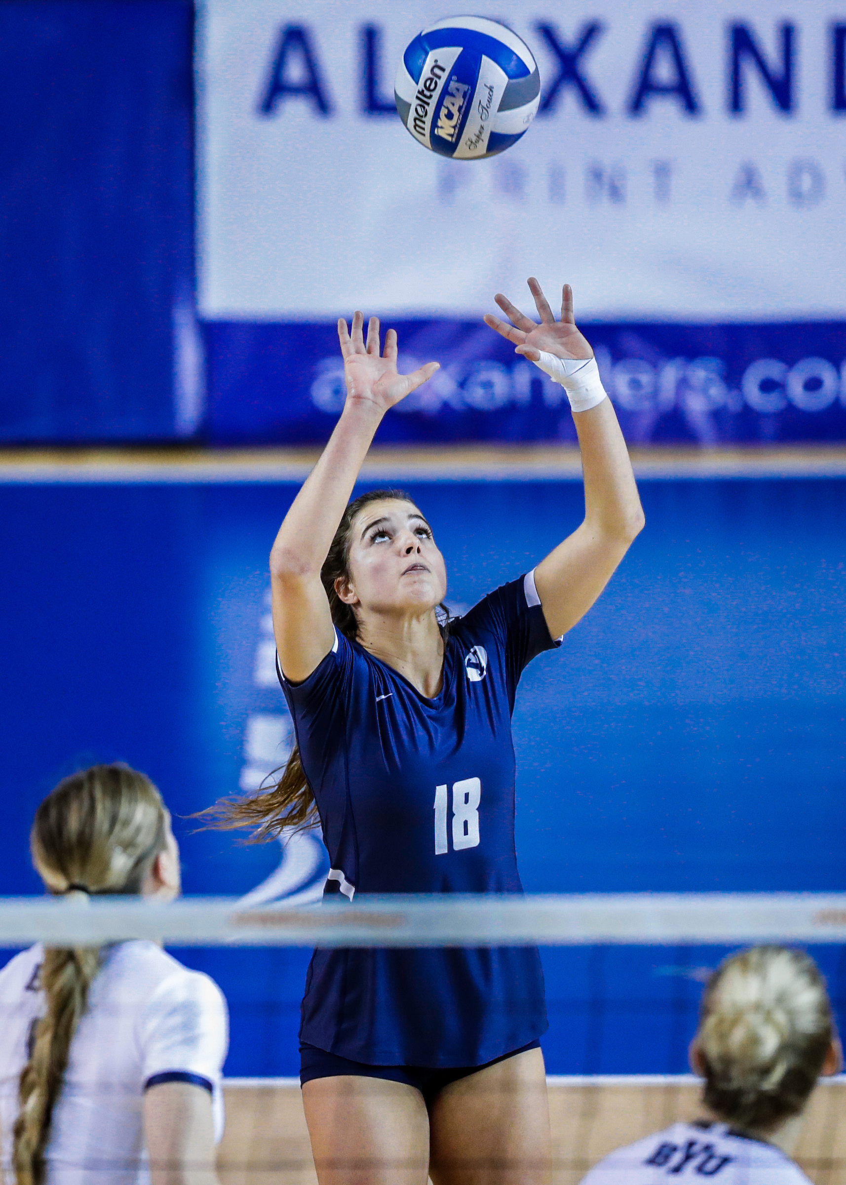 All-American Mary Lake helped the BYU Women's Volleyball Team reach the 2018 NCAA Final Four. She also plays for Team USA.