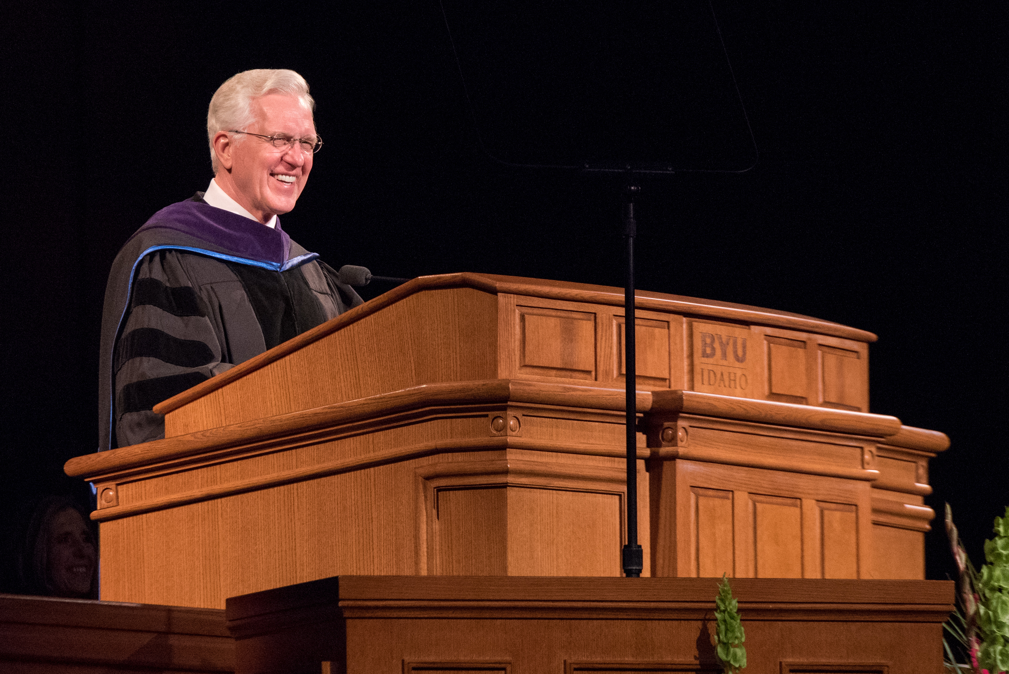 Elder D. Todd Christofferson, a member of the Quorum of the Twelve Apostles, address at the Commencement Service.