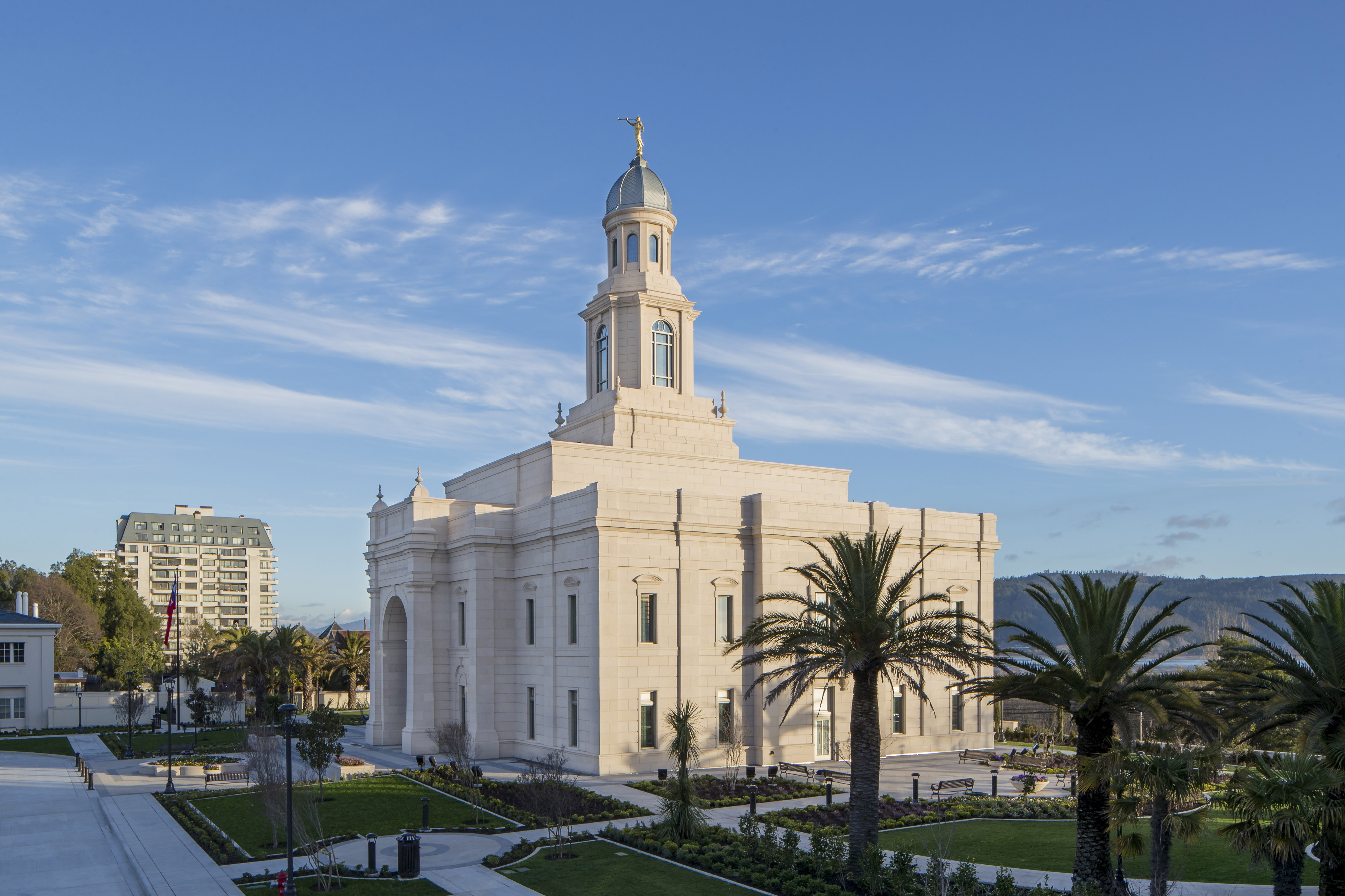 The Concepción Chile Temple.