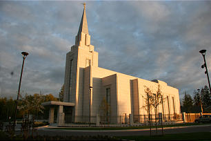The Vancouver British Columbia Temple, dedicated May 2, is the seventh temple in Canada and the 131st worldwide.