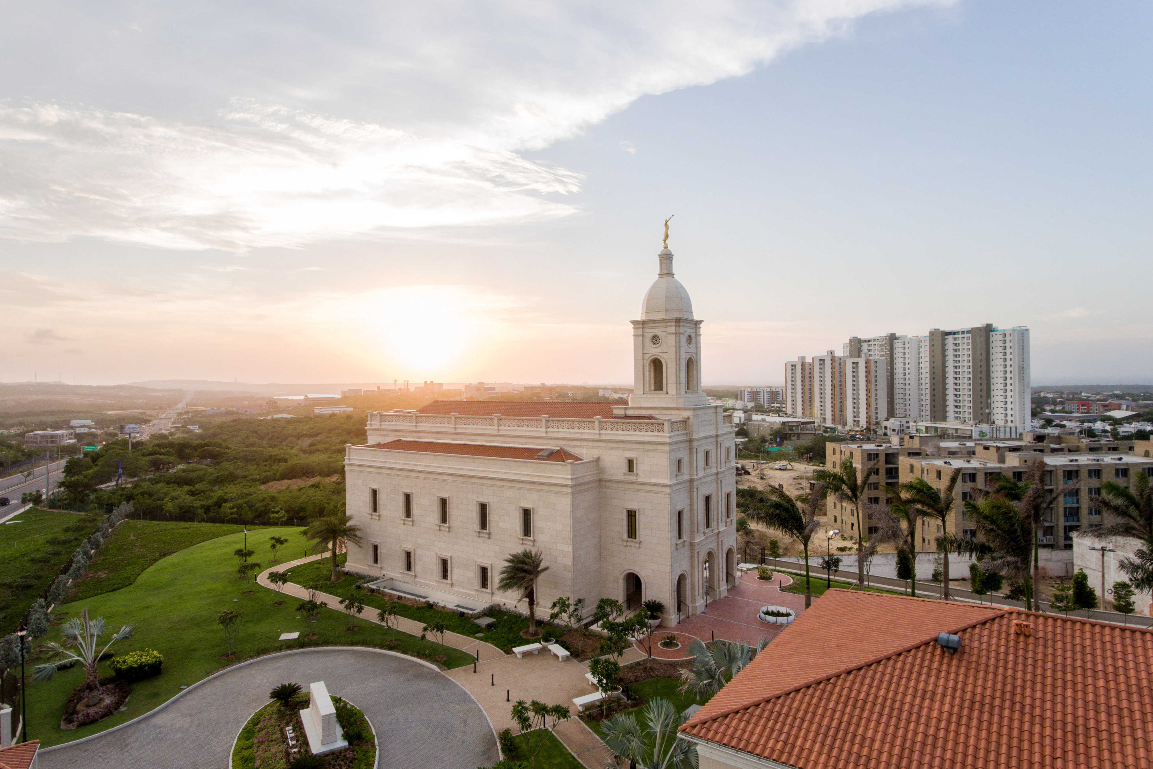 The Barranquilla Colombia Temple.