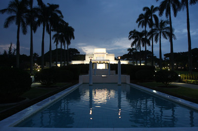 The Laie Hawii Temple, which was built in 1919, will be rededicated on Nov. 21 by President Thomas S. Monson. Thursday, Nov., 18, 2010.