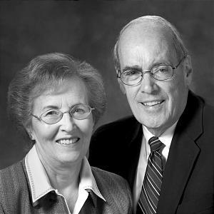Caroline and Elder F. Burton Howard