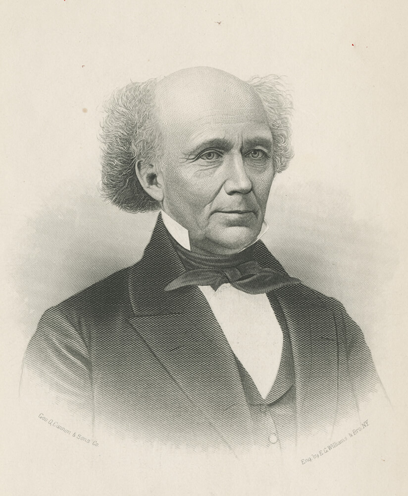 John M. Bernhisel, a physician from New York City, joined the Church in 1840 and helped the Church locate and purchase property in Nauvoo.