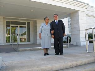Elizabeth and Zeniff Mejia, Merida, Mexico
