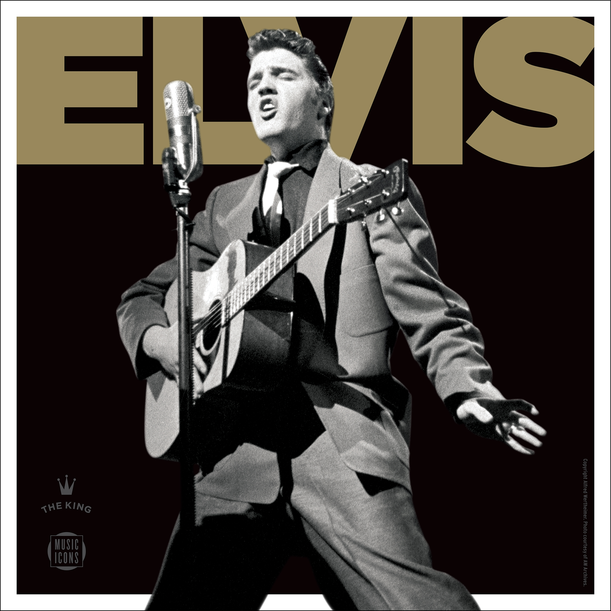 "This CD cover image released by the United States Postal Service shows, ""Elvis Forever,"" an Elvis Presley greatest hits CD to go along with a new commemorative stamp available on Aug. 12. (USPS via AP)"