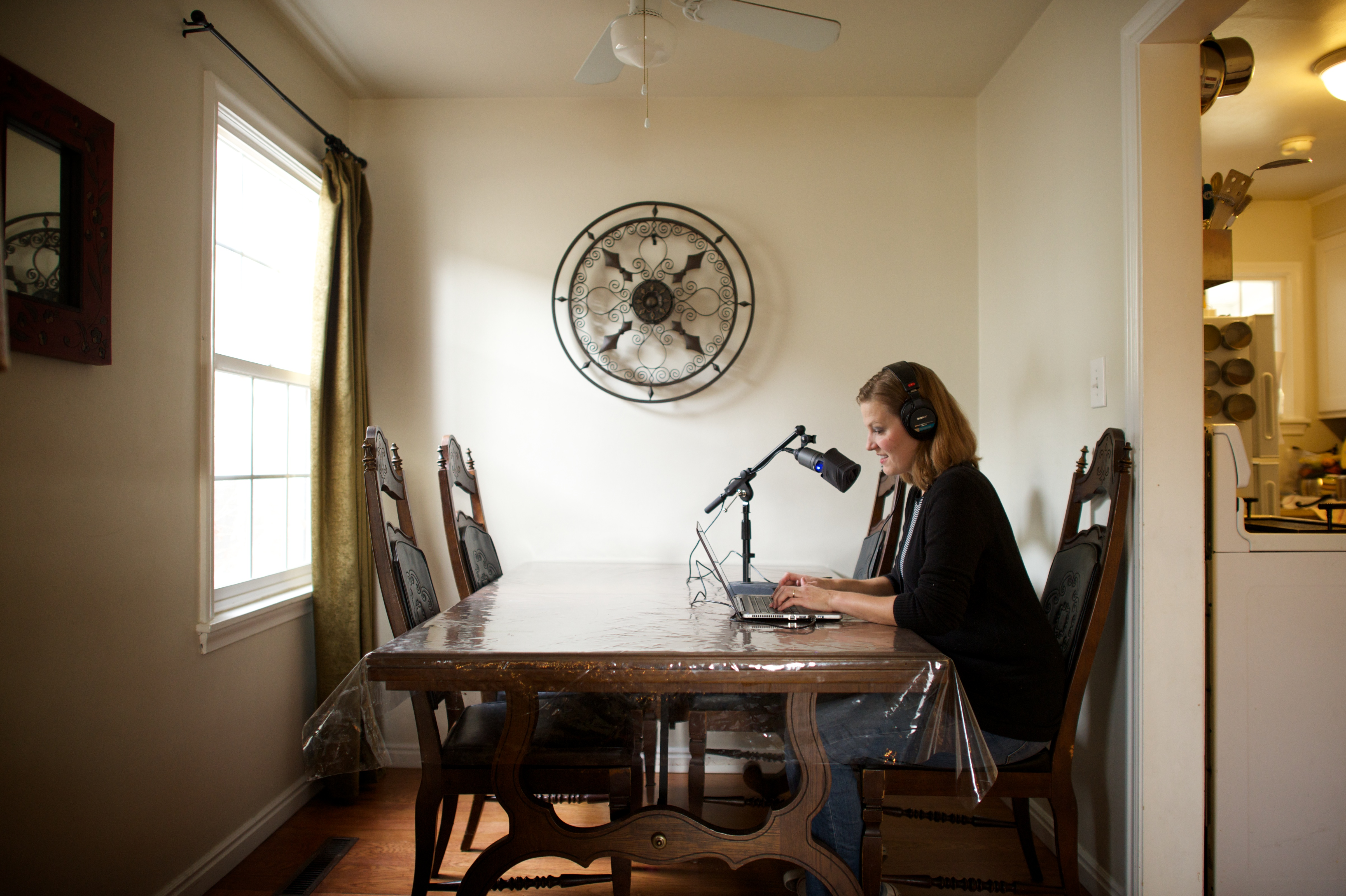 Voice talents for The Church of Jesus Christ of Latter-day Saints can now record audio of scripture translations at home before sending them in for approval.