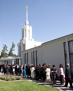 Chilie Santiago Temple