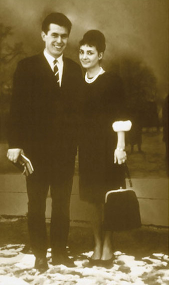 Dieter and Harriet Uchtdorf as newlyweds in 1962.