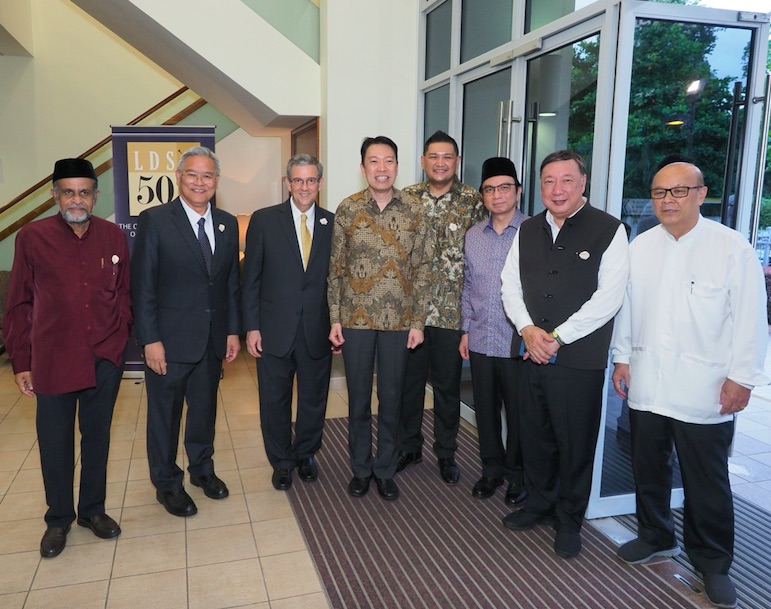 Government officials, diplomats, grassroots leaders and religious leaders from various faiths in Singapore attended a historic Iftar on May 27, 2019.