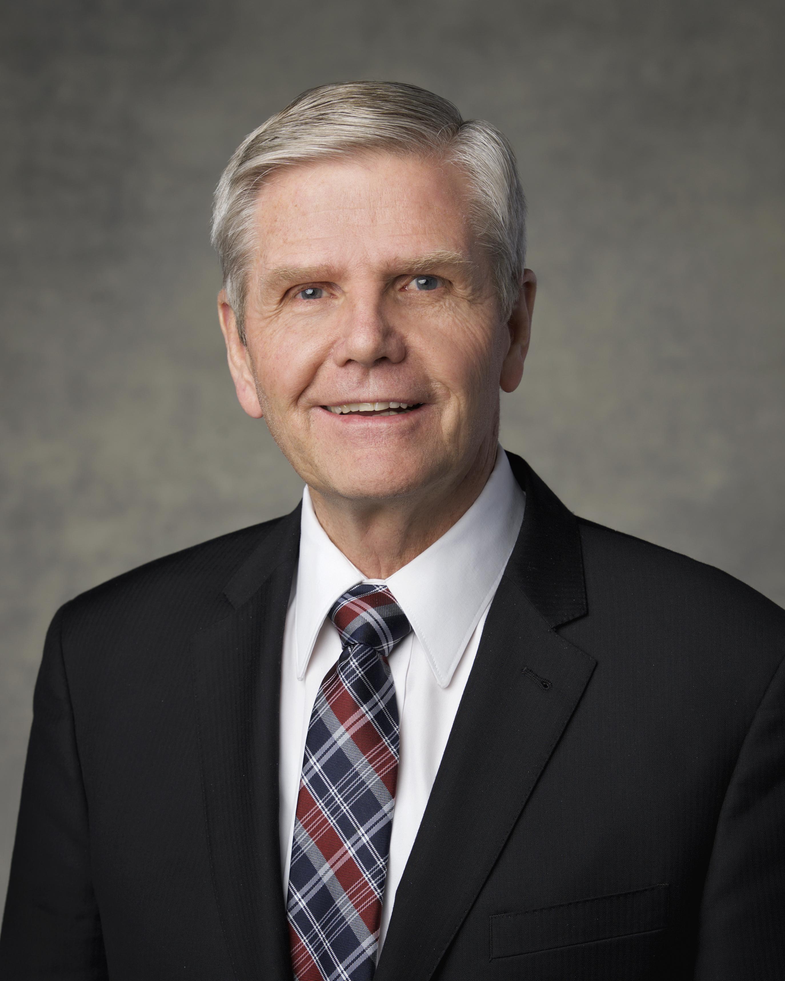 Elder Mervyn B. Arnold, emeritus General Authority Seventy