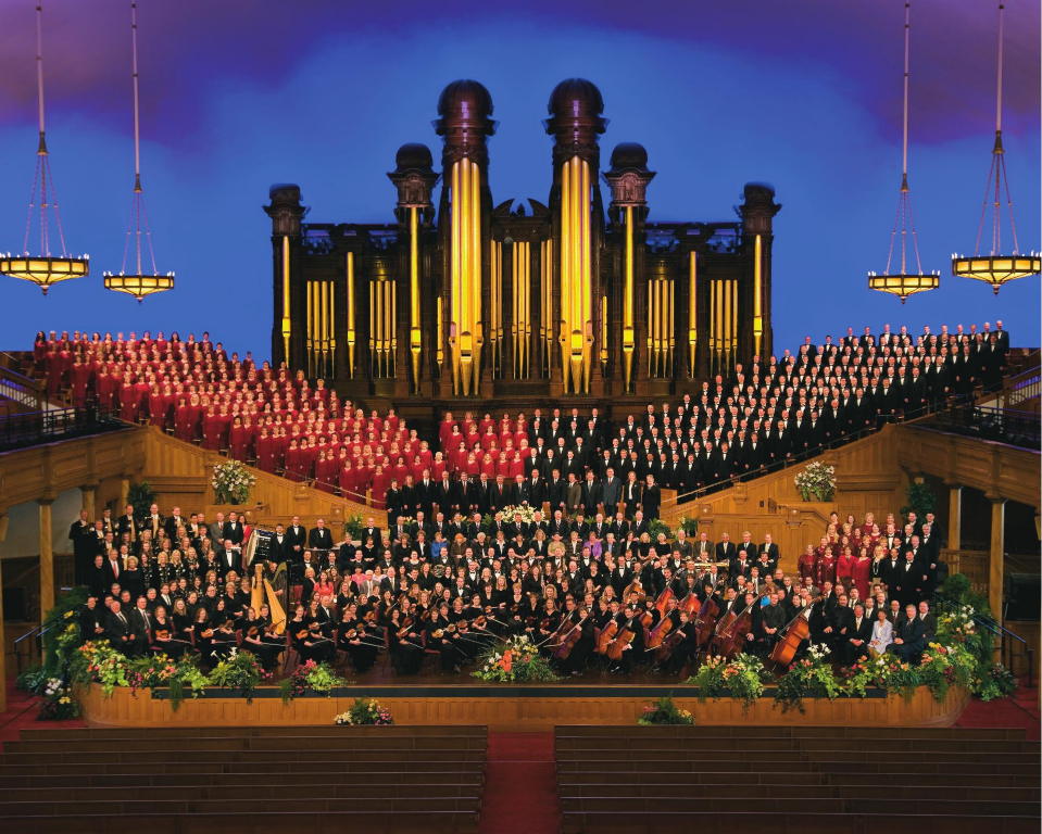 The newly-named The Tabernacle Choir at Temple Square are part of a Church-sponsored musical family that also includes The Orchestra at Temple Square and The Bells at Temple Square