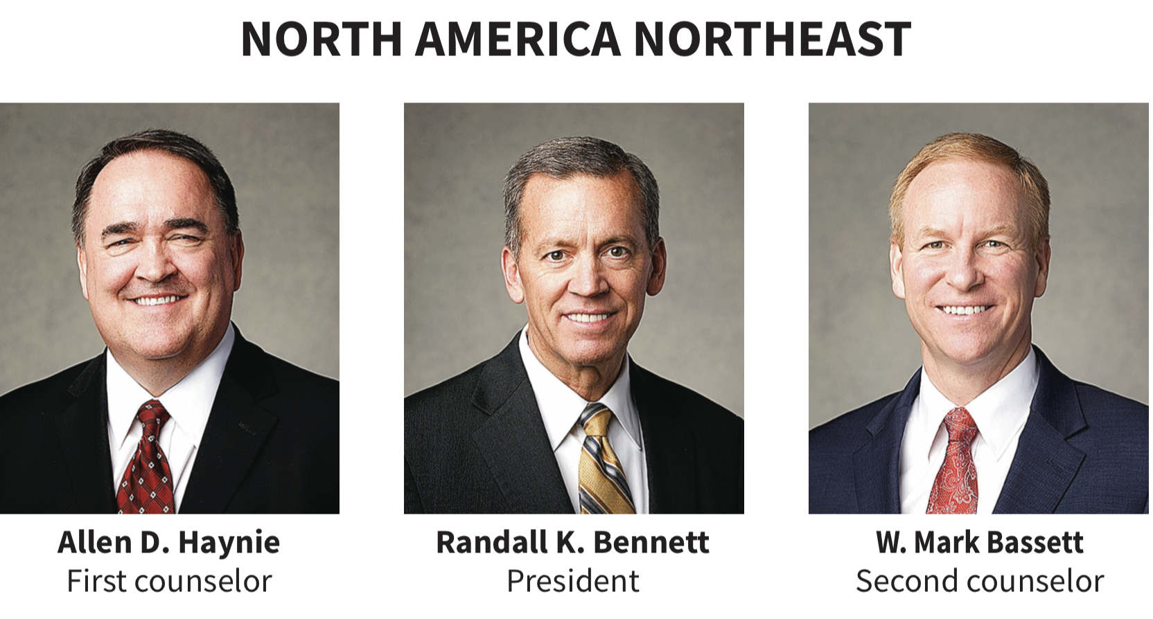 North America Northeast area presidency