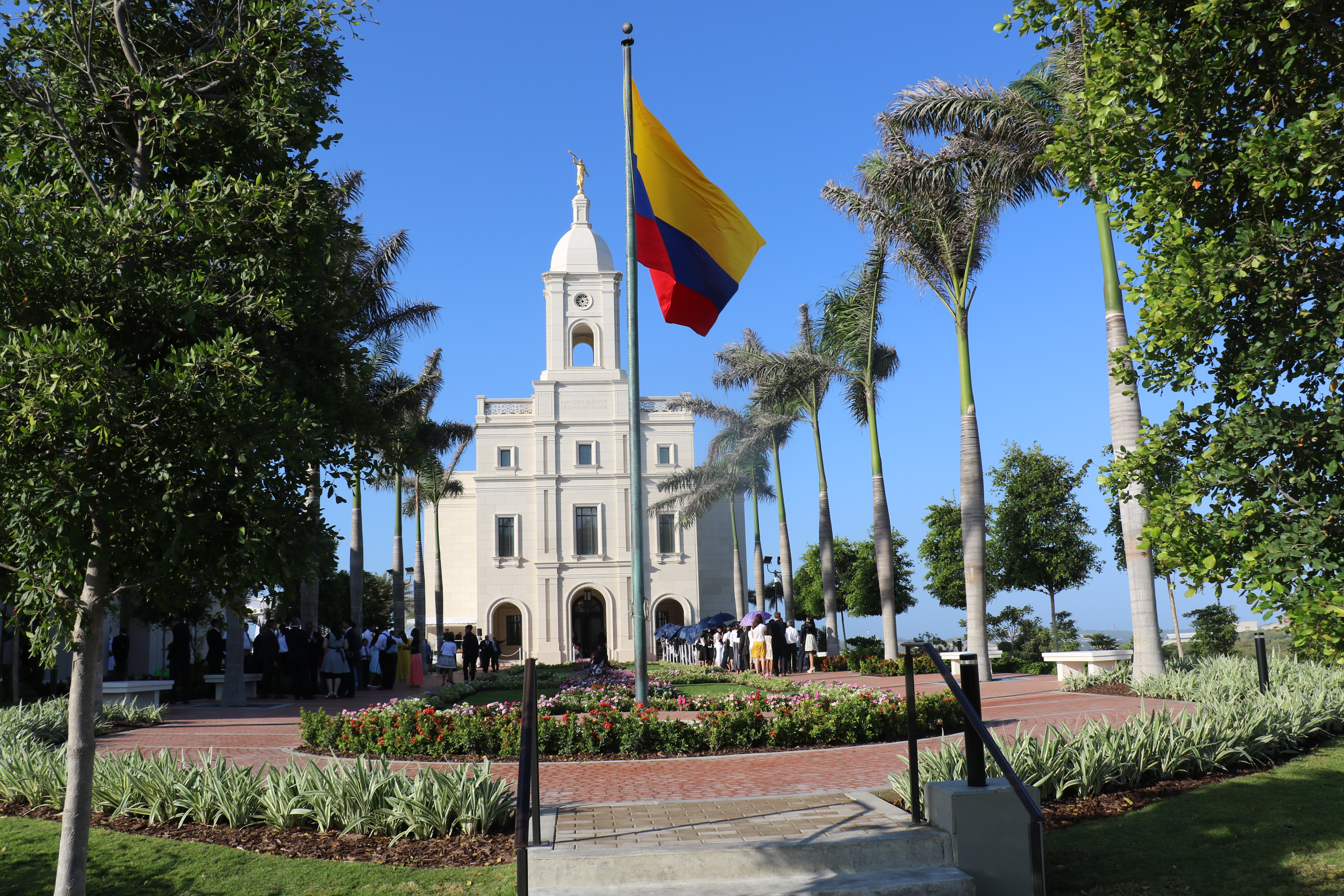 Dedicated Dec. 9, 2018, the Barranquilla Colombia temple is that nations second temple and the 161st in operation in the world.