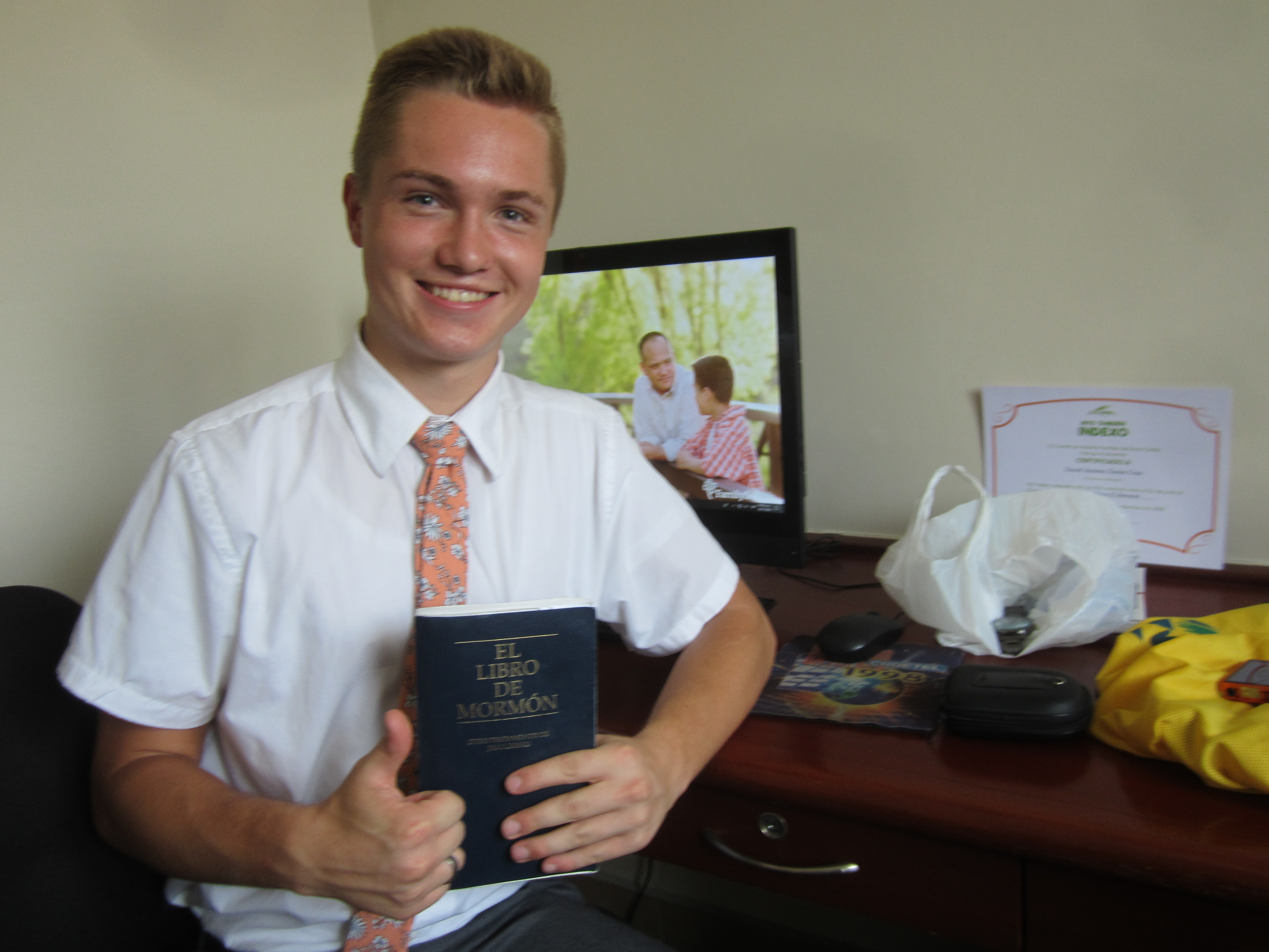 Elder Brennan Conrad, 18, of Hyde Park, Utah, served as a missionary of The Church of Jesus Christ of Latter-day Saints in the Dominican Republic Santo Domingo East Mission from August 2018 until he died in an accidental fall from his apartment roof in Santo Domingo on Wednesday, Feb. 20, 2019.