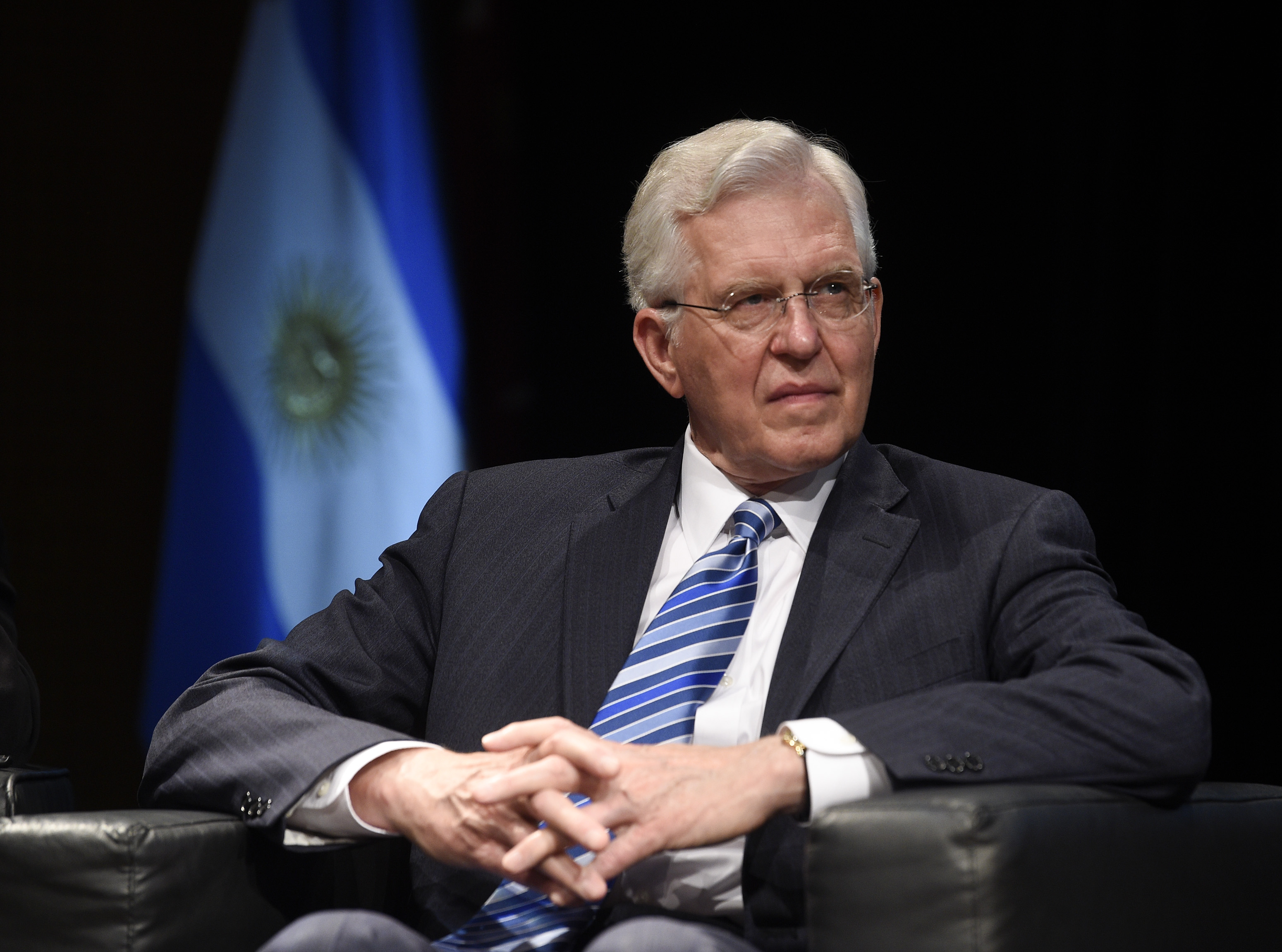 Elder D. Todd Christofferson of the Quorum of the Twelve Apostles is pictured before his speech at the G20 Interfaith Forum in Buenos Aires, Argentina, on Wednesday, Sept. 26, 2018.