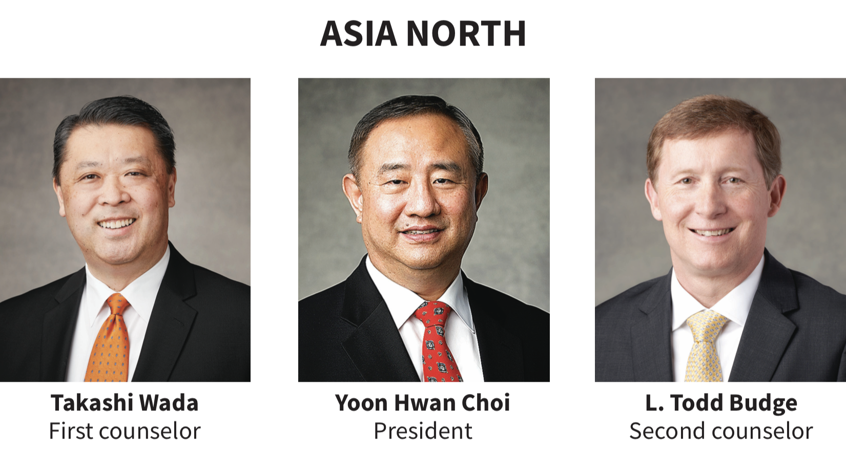 Asia North area presidency