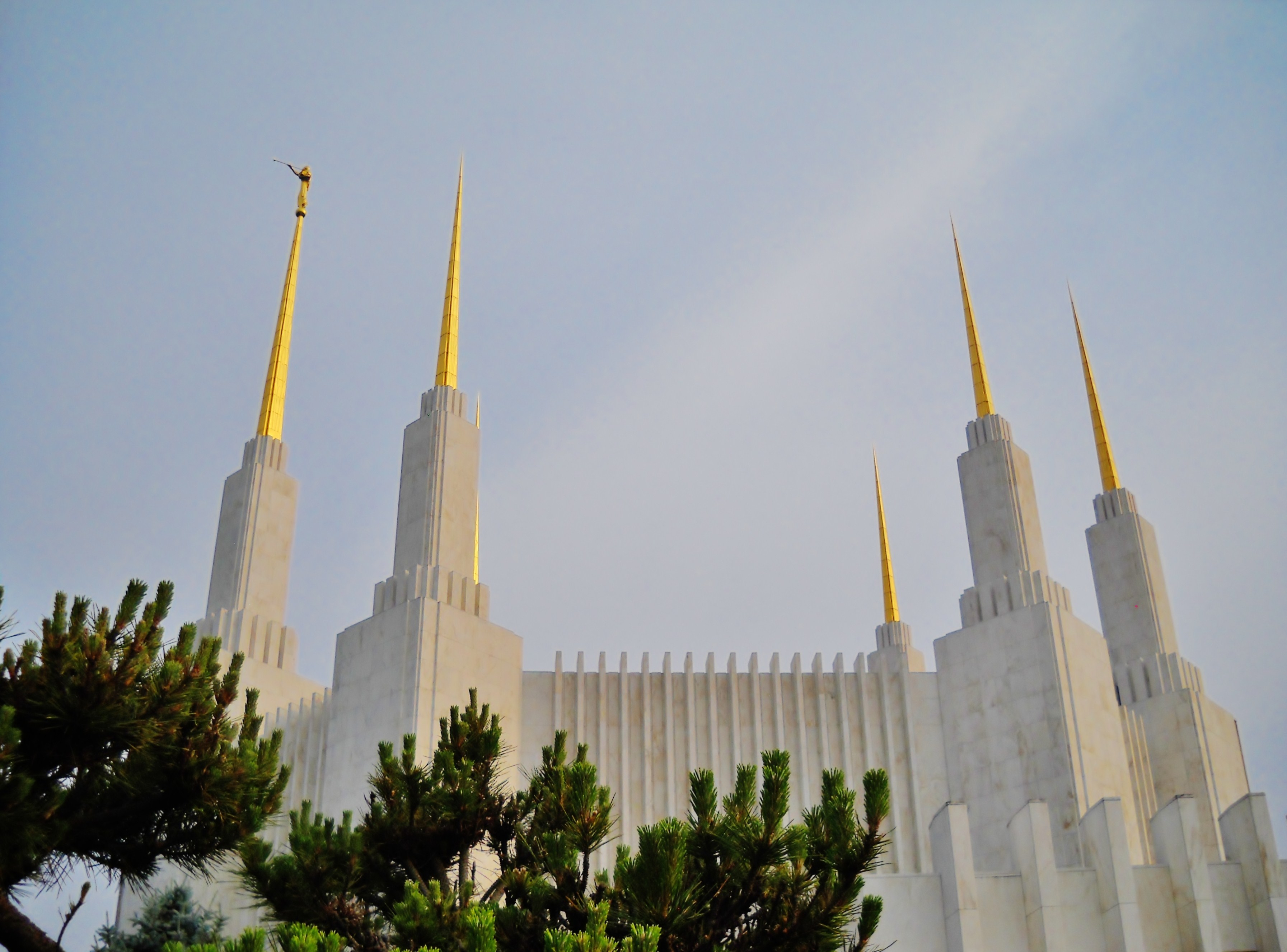 The Washington D.C. Temple closed for extensive renovation in March 2018.