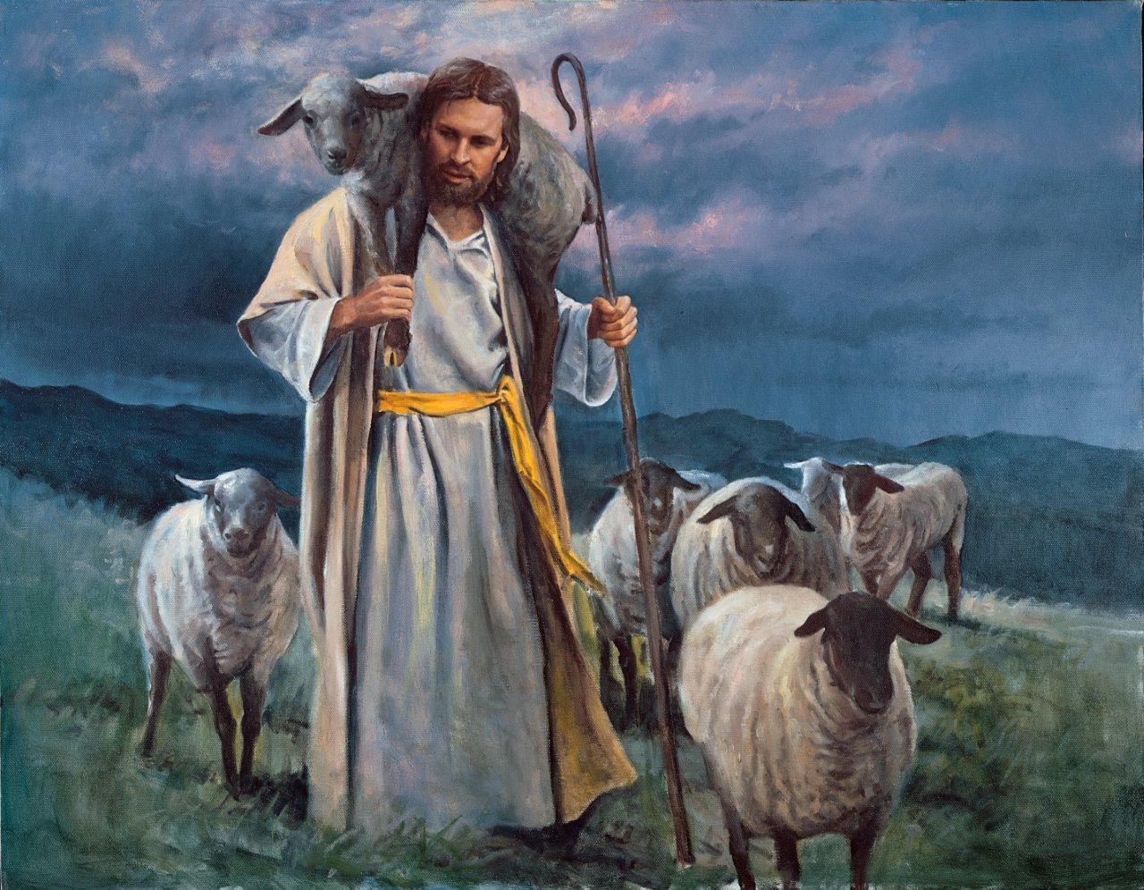 """Good Shepherd"" is by Del Parsons."