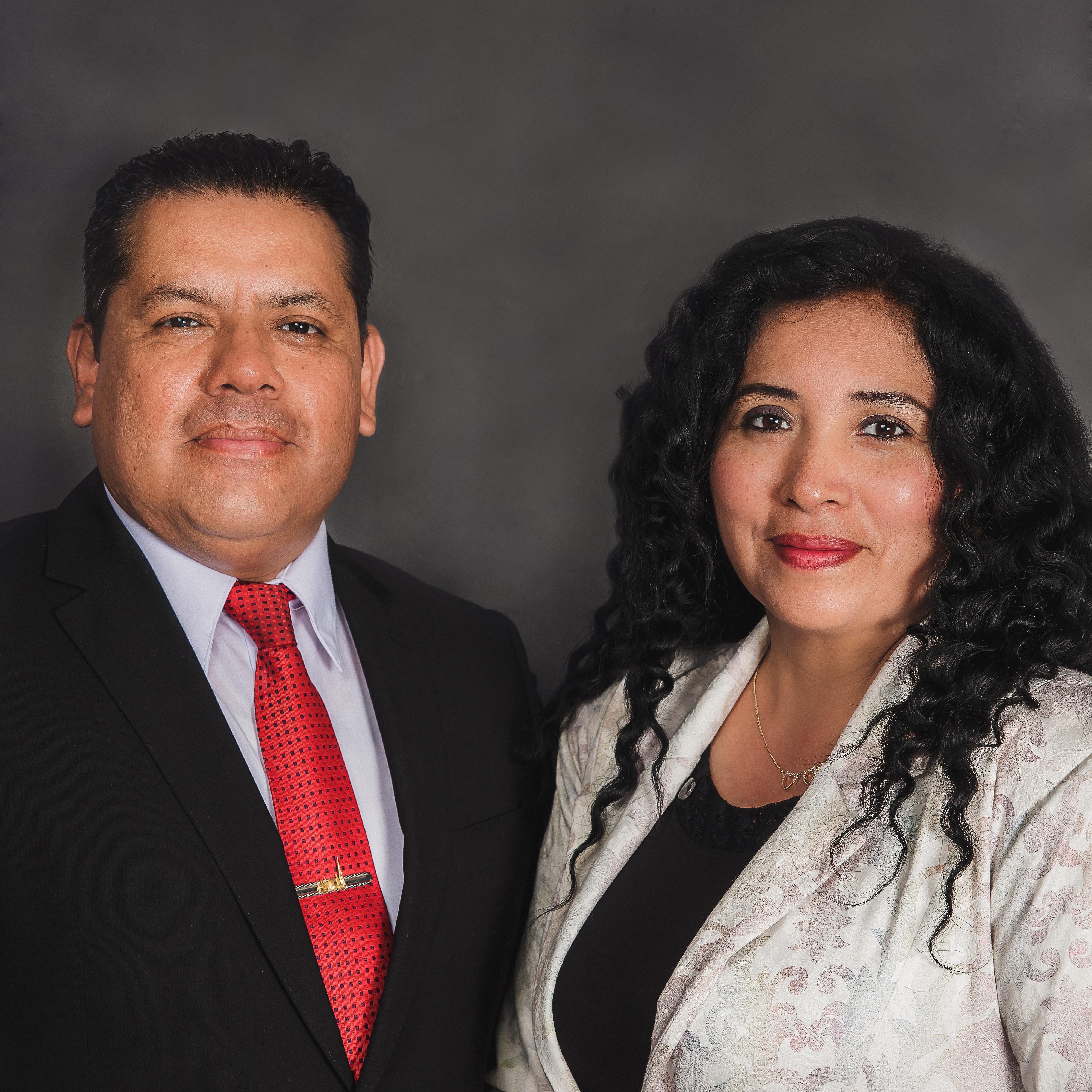Edgar Hinostroza Cordova and Rocio Trujillo de Hinostroza
