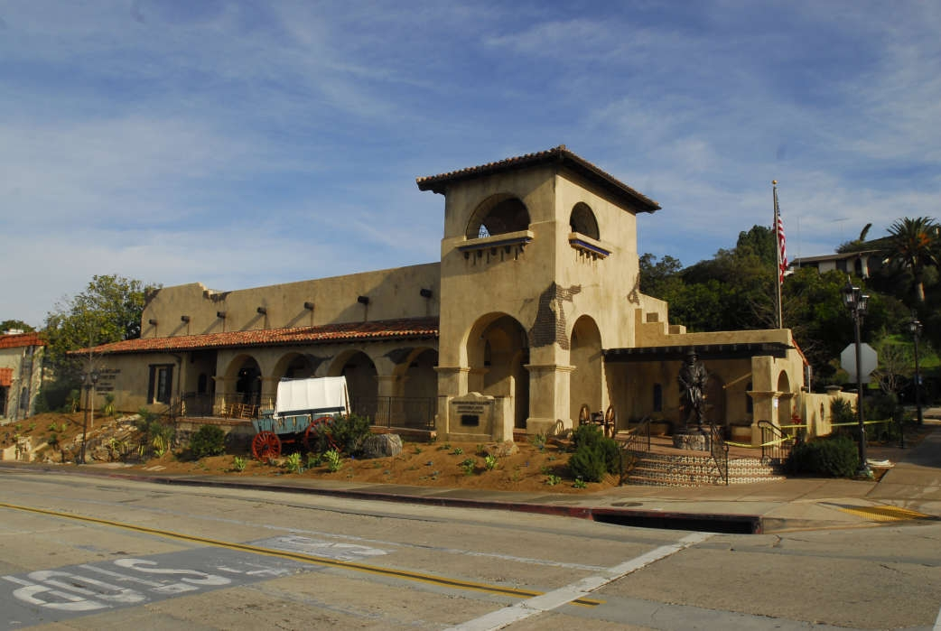 The Mormon Battalion Historic Site in San Diego, Calif.