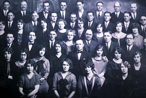 Missionaries serving in Central States Mission in 1927.