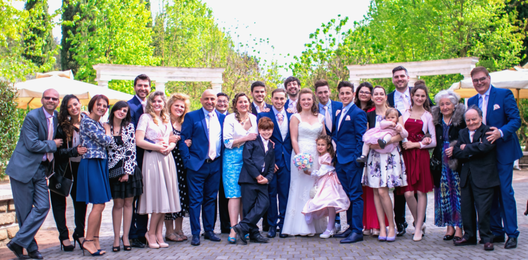 Four generations of the Vardeu family gather for a grandson's wedding in 2017. Agostino and Pierina, right front, joined the LDS Church in 1978.