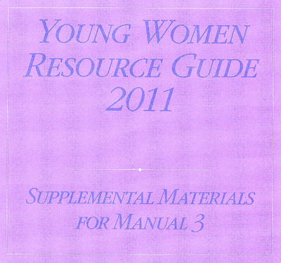 The 2011 Young Women Resource Guide can help youth leaders address relevant issues, focus on the words of the prophets and enrich lessons.