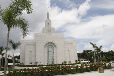 San Salvador El Salvador Temple.