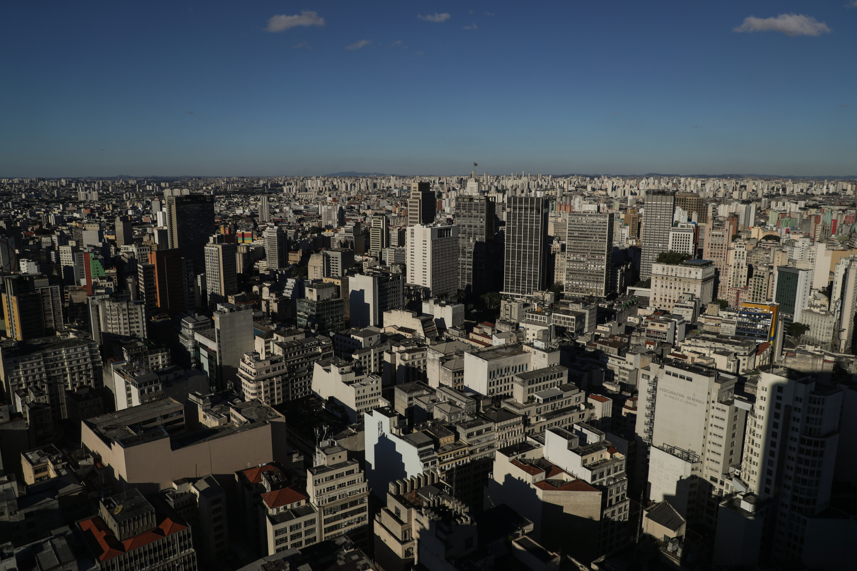 With over 12 million residents, expanses of tall buildings define views of São Paulo, Brazil on Sunday, May 20, 2018.