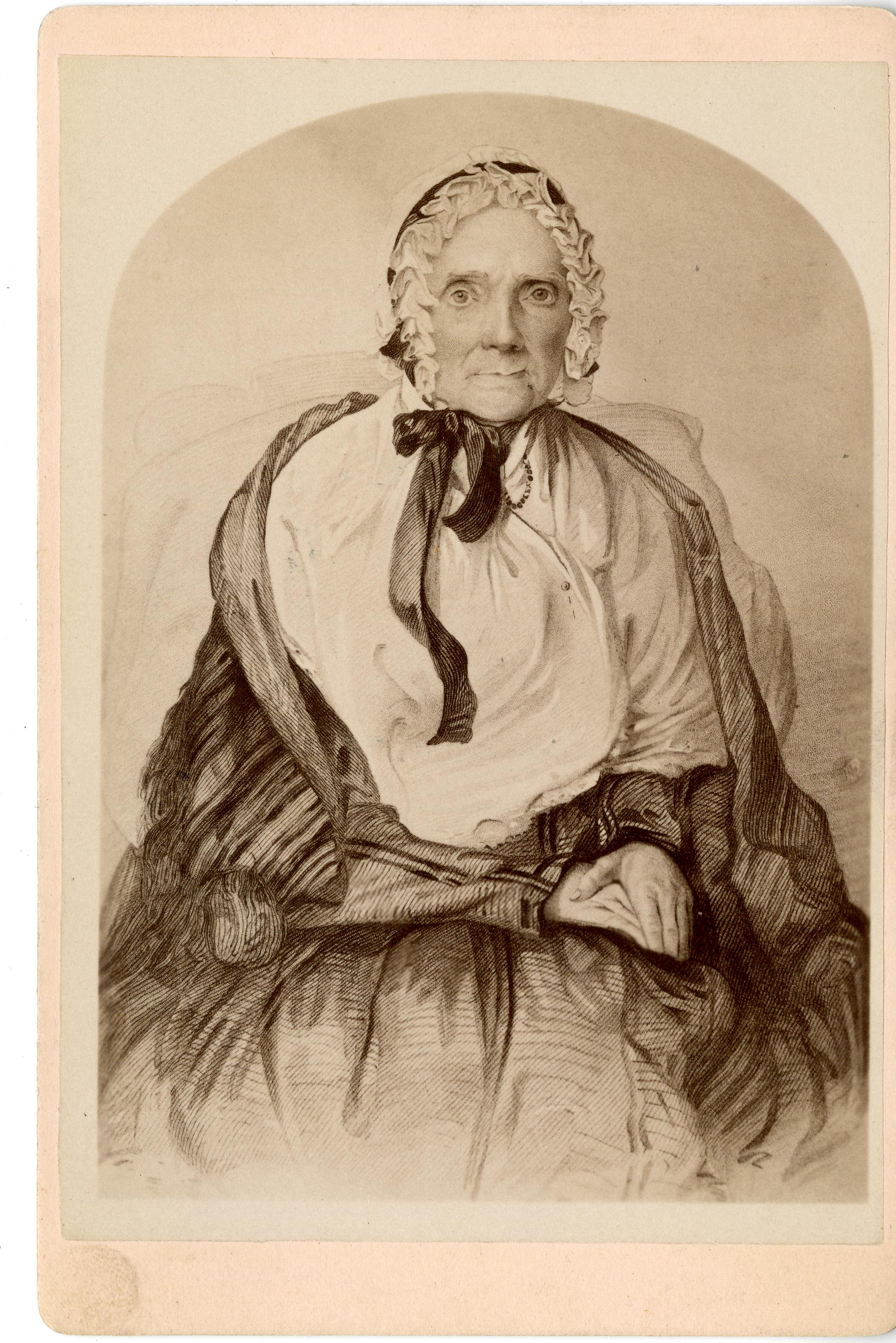 Lucy Mack Smith, 1776-1855.
