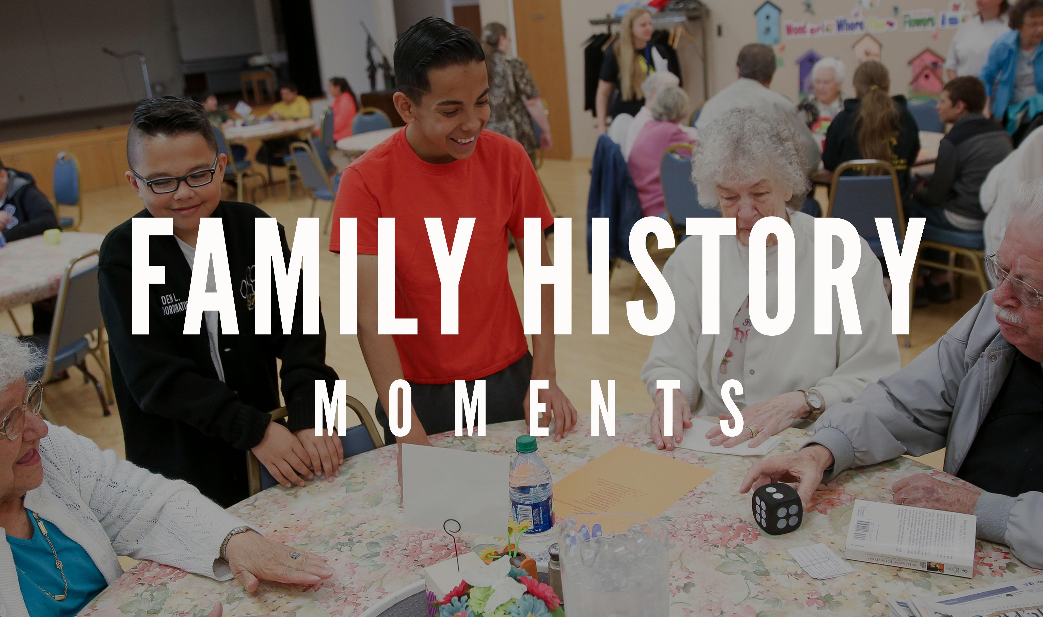 Family History Moment
