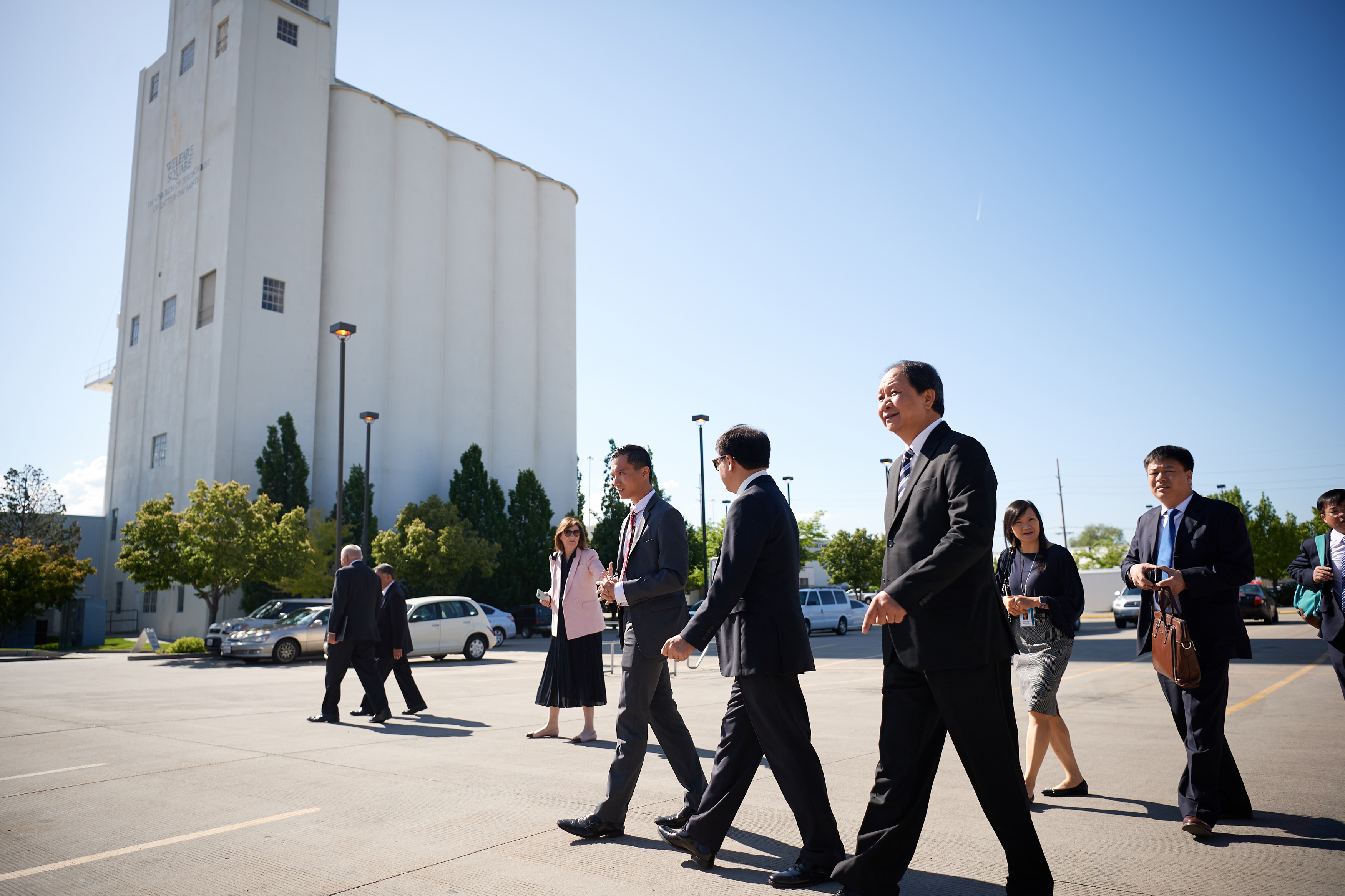 Senior Church leaders hosted a delegation from Vietnam, headed by the Vietnamese Committee for Religious Affairs, in Salt Lake City on June 4-6.