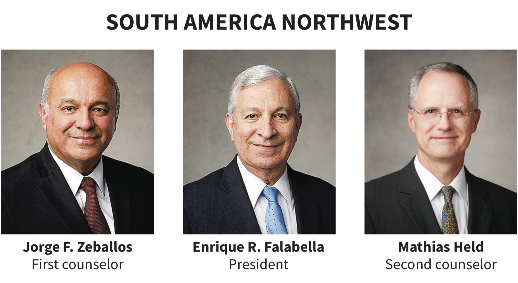 South America Northwest area presidency
