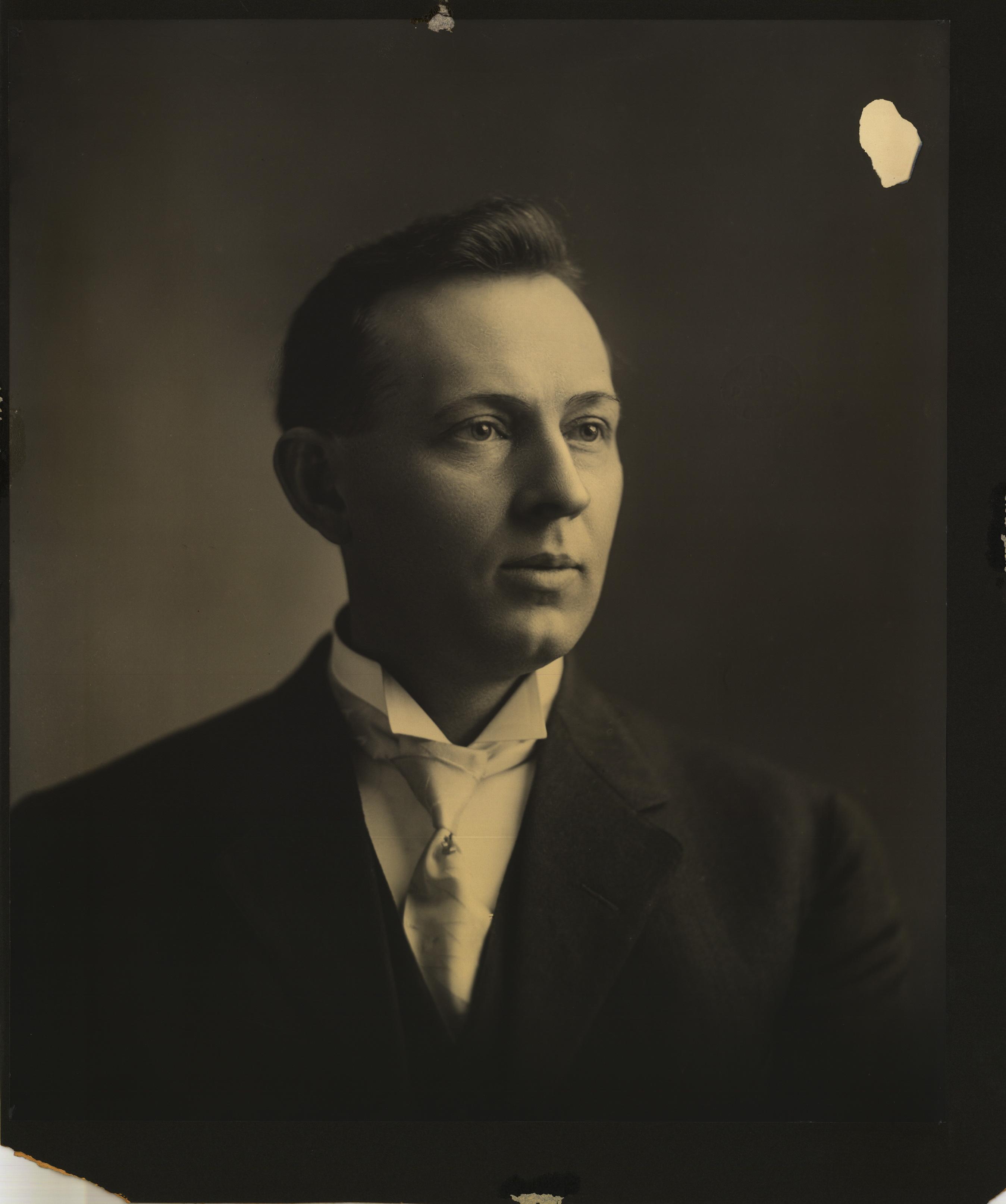 Joseph Fielding Smith as a young man.