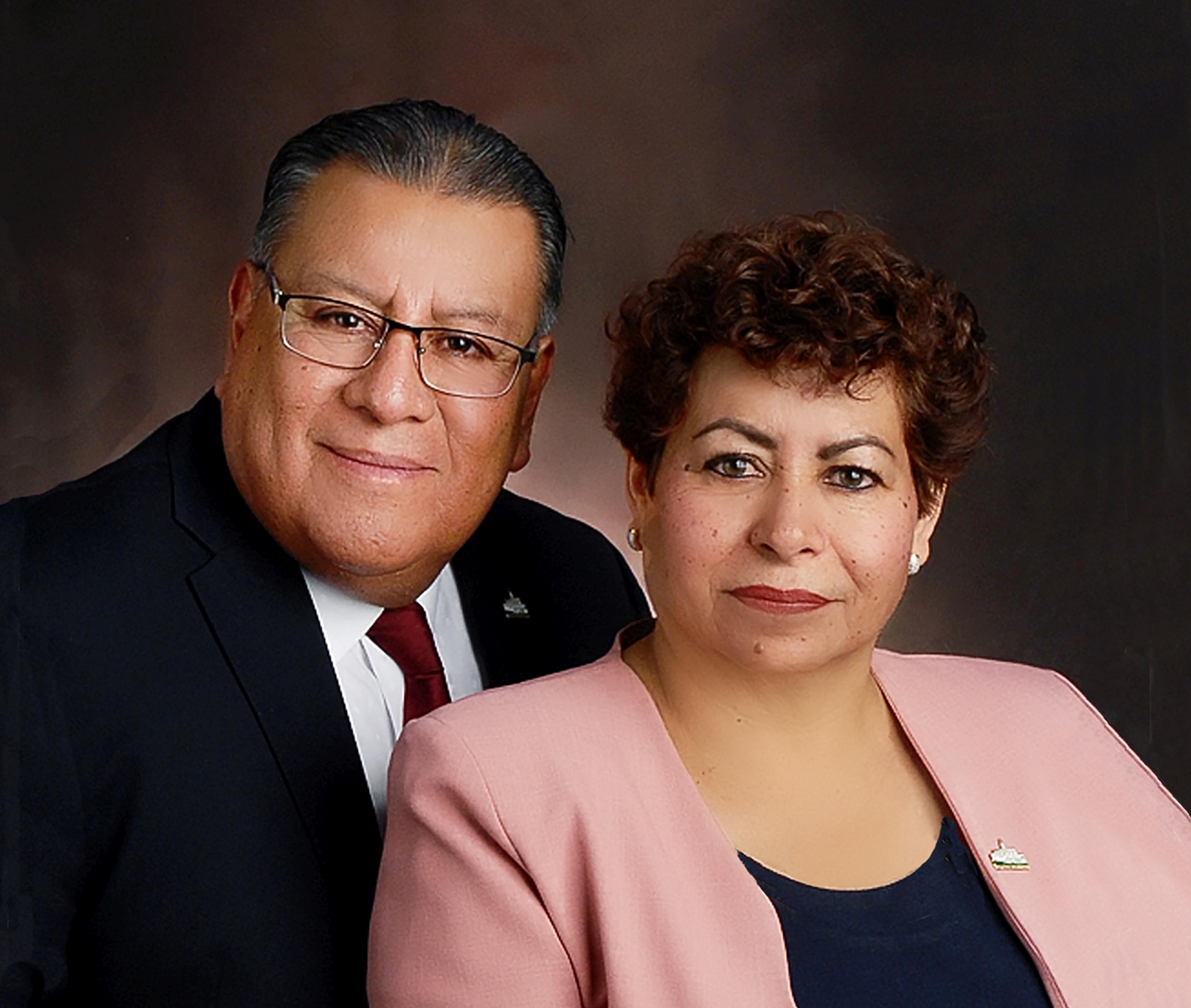 A. David and María C. Vázquez