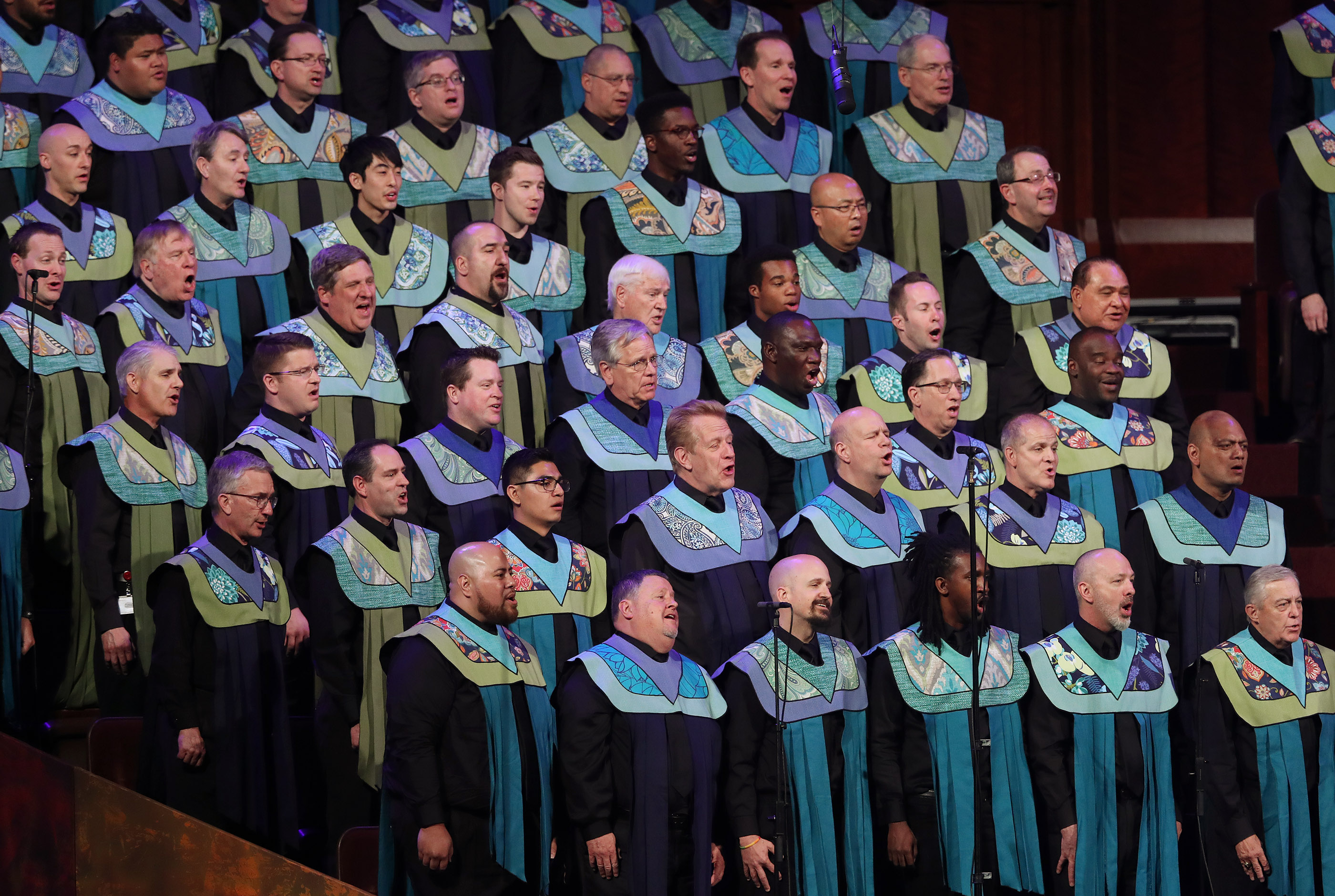 "The Be One Choir sing during ""Be One"" in Salt Lake City on Friday, June 1, 2018. The event celebrates the 40th anniversary of the 1978 revelation on the priesthood."