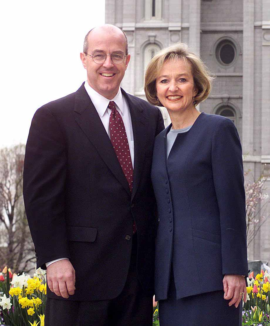 Elder L. Whitney Clayton of the Seventy and his wife, Kathy, believe happiness comes from faith, spending time with family and living the commmandments.