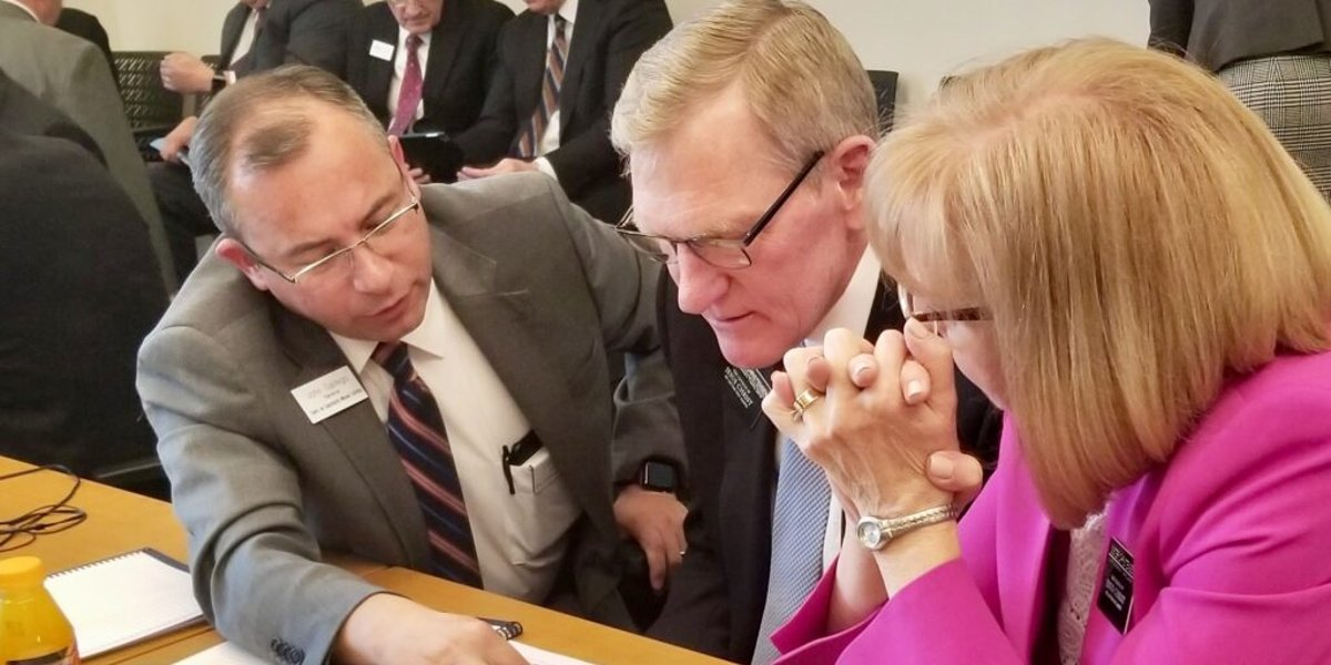 New MTC leaders learn how their focused roles differ from having presided over a mission