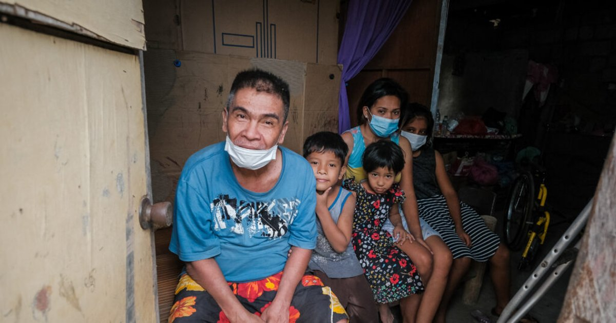 Latter-day Saint evacuees from Taal Volcano return to crumbled homes, ash-covered streets