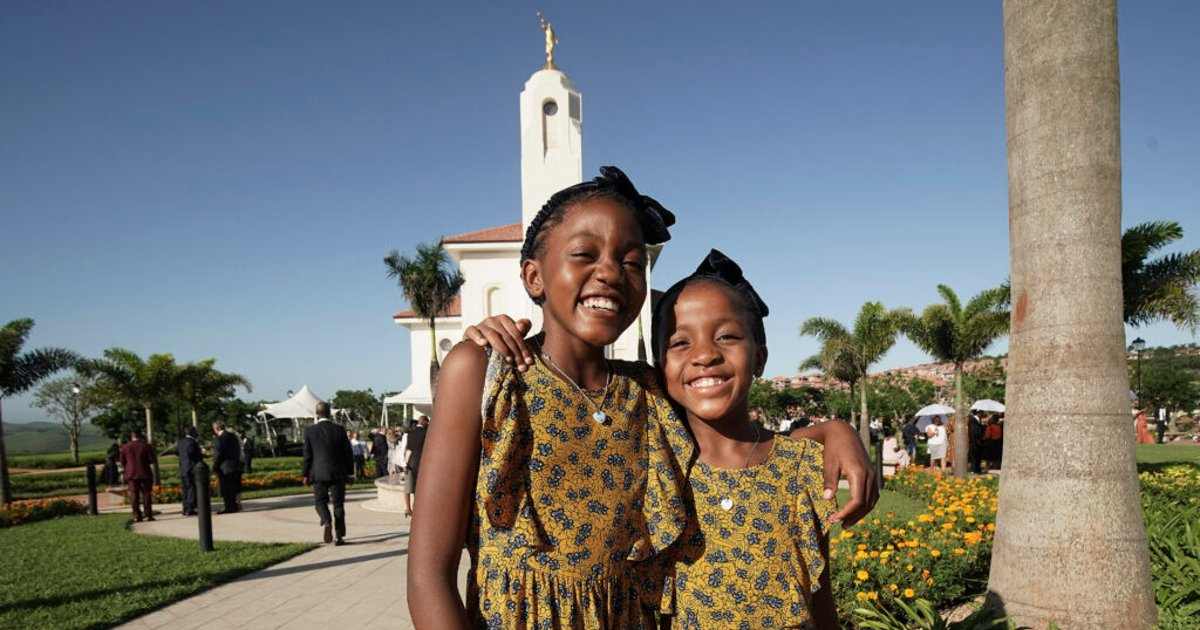 'We were one people today — the people of Jesus Christ,' says Elder Rasband at Durban temple dedication