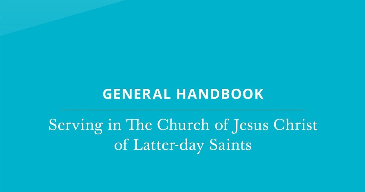 First Presidency releases new general handbook for Church leaders, members