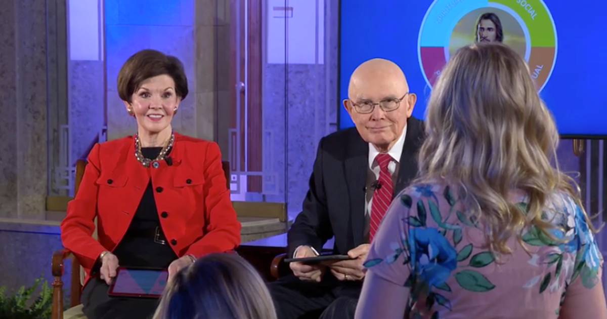 'You can do this,' President and Sister Oaks tell youth during Face to Face on new program