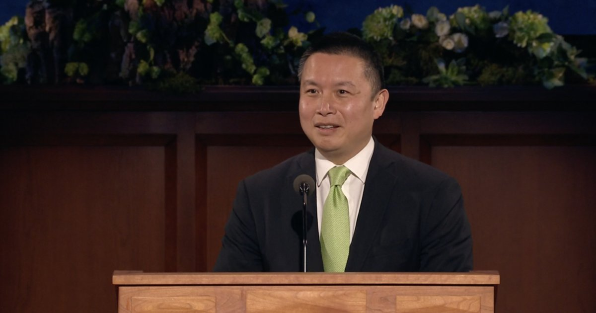 Elder Benjamin M. Z. Tai: 'The Power of the Book of Mormon in Conversion'