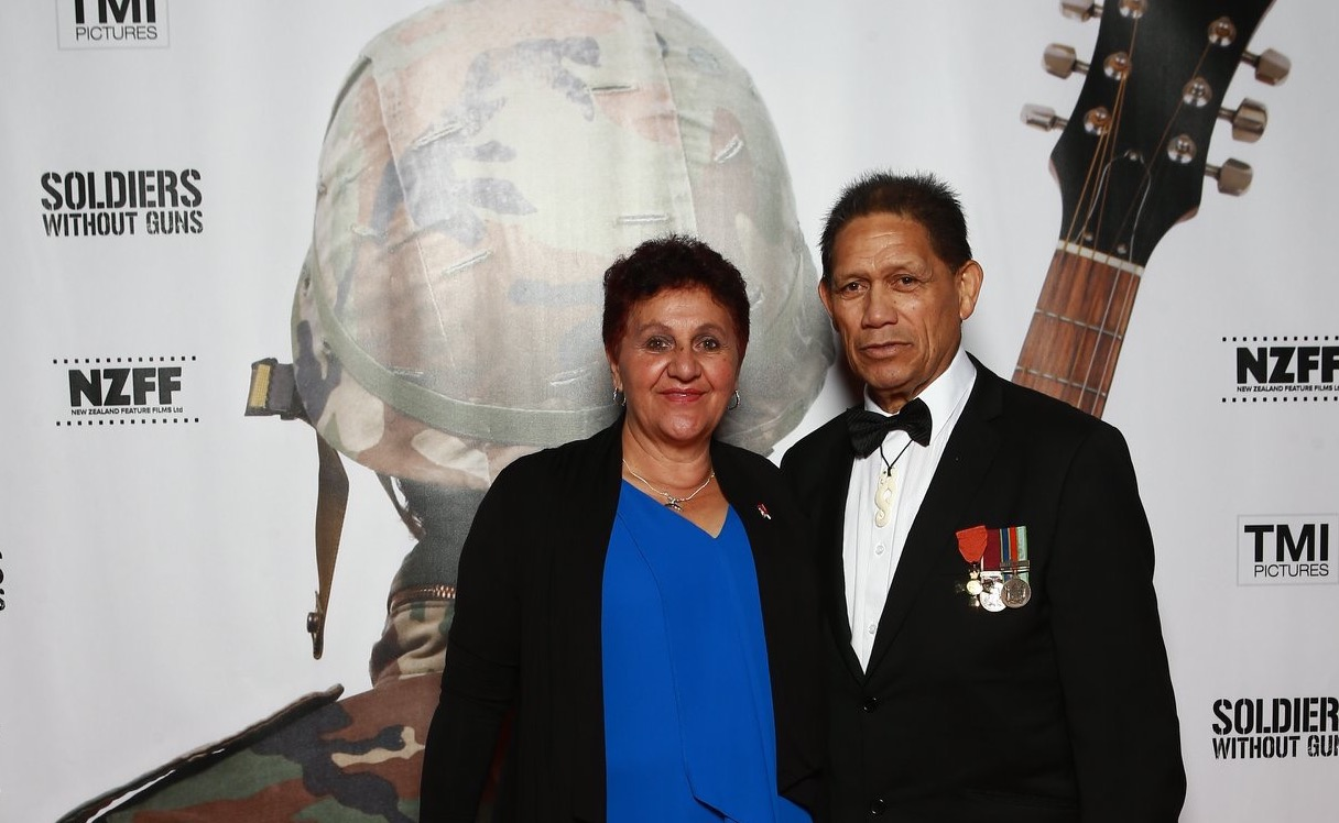Evelyn Ratima is a recipient of the Queen's Service Award and her husband, Des Ratima, is a recipient of the New Zealand Order of Merit for their service to the Whakatu community.