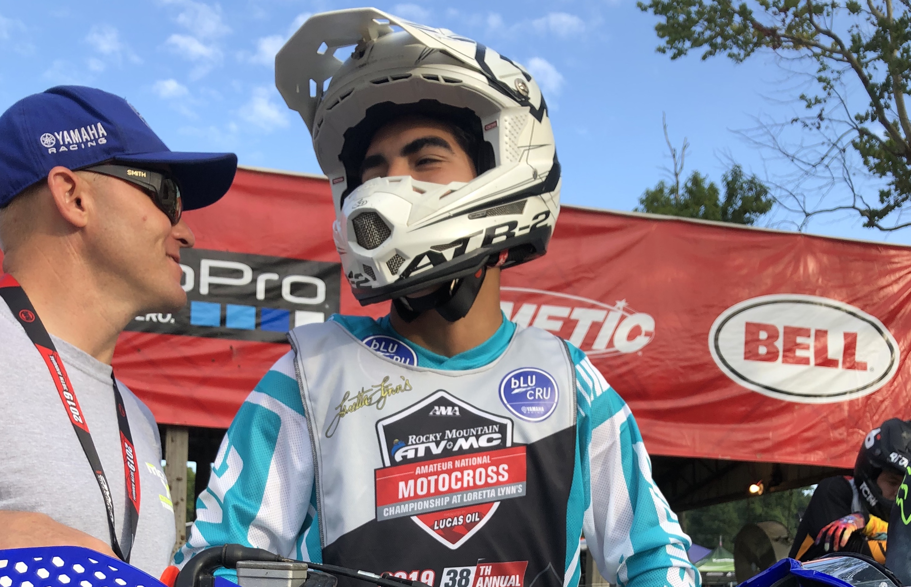 "Rene ""R.J."" Rodriguez recently honored Hunter Syddall by wearing his No. 30 at the 38th Annual Rocky Mountain ATV/MC AMA Amateur National Motocross Championship at Loretta Lynn Ranch in Tennessee."